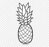 Pineapple Clip Clipart Hula Coloring Pages Winter Hawaiian Hawaii Luau Flower Aloha Crafting Middle Transparent Result Banner Party Flyclipart sketch template