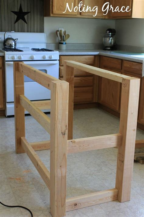 how to build a custom kitchen island how to a pallet kitchen island for less than 50