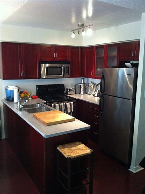 modern ikea kitchen  behance