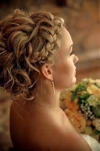 Beautiful Updo Hairstyles With Braids And Side Bangs For Straight Hair Short Hairstyle 2013