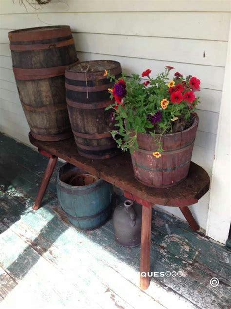 Photo Painted Keg Antiques Lovin Primitives