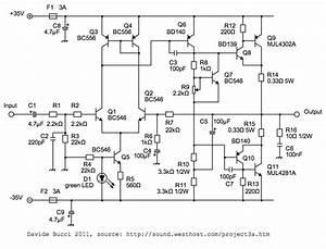 Amplificateur 55 W   55 W Bas U00e9 Sur Le Projet Esp P3a