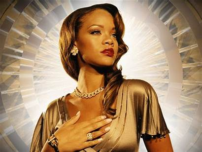 Rihanna Wallpapers Singer Hair Hairstyle Classic Side