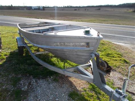 Montgomery Ward Sea King 14 Aluminum Boat by Sea King Aluminum Boats For Sale