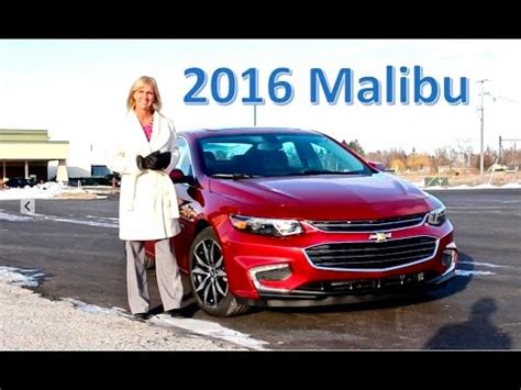 The 2016 Malibu At Burt Watson Chevrolet Youtube