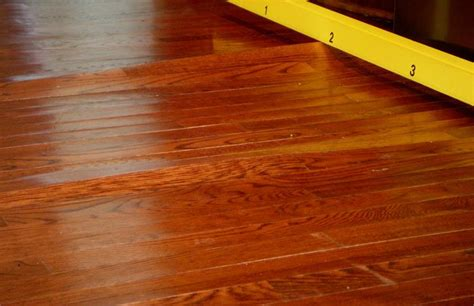 Wood Floor Buckling And Cupping by Jeff Pope Wood Flooring Inspections