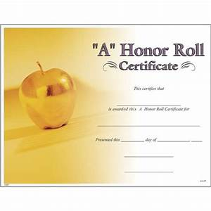 a honor roll certificates photo a honor roll certificate With a b honor roll certificate template