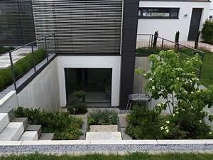 gartengestaltung wangen lichtgraben lichthof hochkeller With französischer balkon mit garten und landschaftsbau gartenbau stuttgart