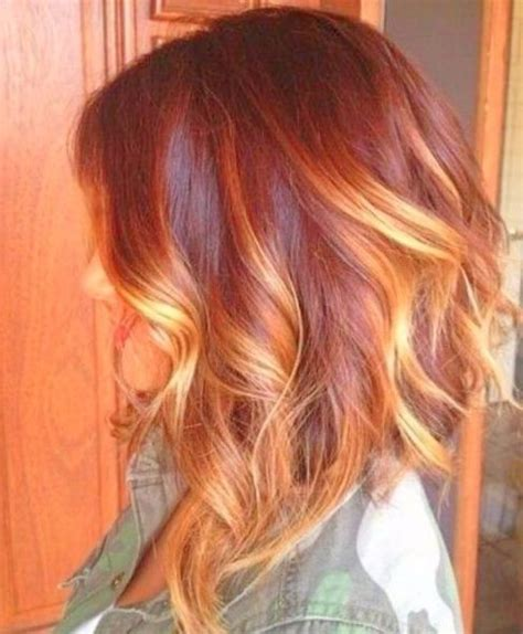 balayage rot blond 45 einfach balayage kurzes haar ideen style