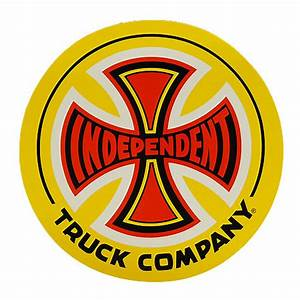 """Independent 77 Truck Logo 12"""" Decal Sticker in stock at ..."""