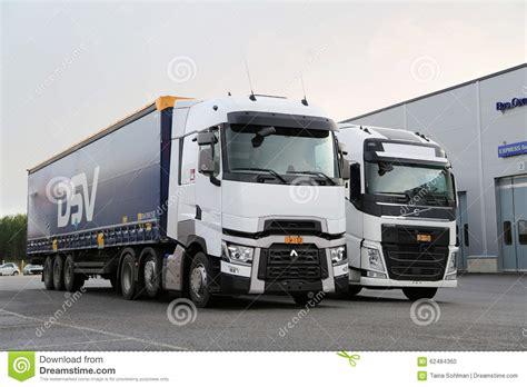 volvo truck service center renault trucks t and volvo fh semi on demo drive event