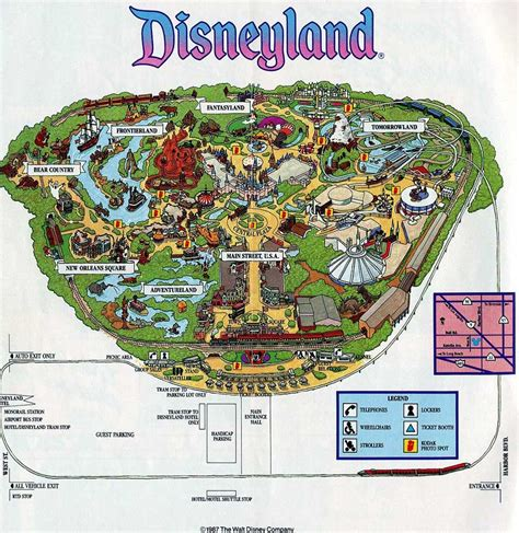 theme park brochures disneyland theme park brochures