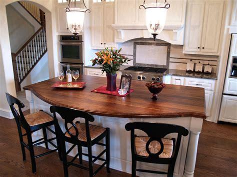 kitchen island with bar top afromosia custom wood countertops butcher block