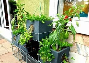 Balkon Bäume Im Topf : geco gardens die kleine farm auf dem balkon ~ Frokenaadalensverden.com Haus und Dekorationen