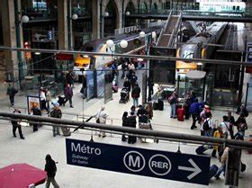 bureau change gare du nord how to change trains station in by metro or taxi