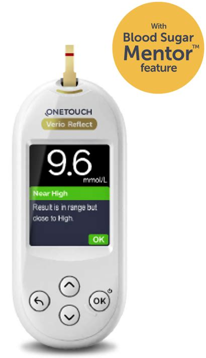 onetouch verio reflect blood glucose meter onetouch