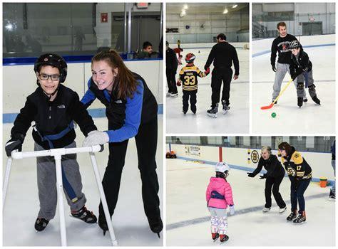 adaptive ice skating  program recap franciscan