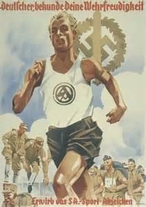 Propaganda Poster German Stormtroopers