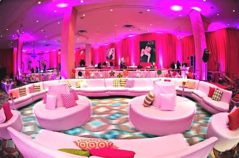 Decorating Themes : Modern Candy & Baking Theme Bat Mitzvah Pink Candy Bat