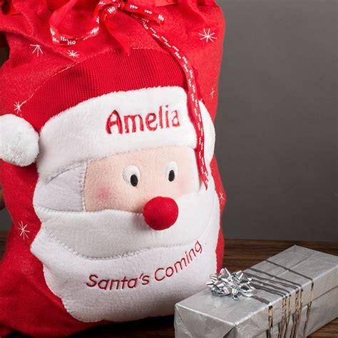 personalised christmas santa sack gettingpersonal co uk