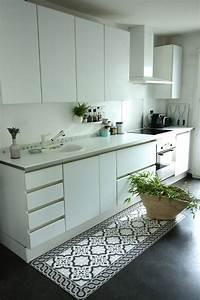 Tapis Carreau Ciment : tapis cuisine carreaux ciment decoration d 39 interieur idee ~ Voncanada.com Idées de Décoration
