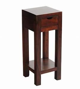 Meuble De Chevet : meuble de chevet haut palissandre 1 tiroir mobilier ~ Teatrodelosmanantiales.com Idées de Décoration