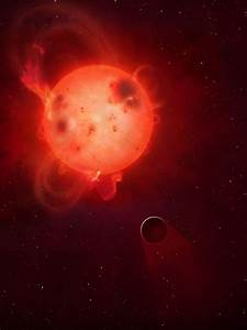 'Superflares' scorch potentially-habitable exoplanet ...