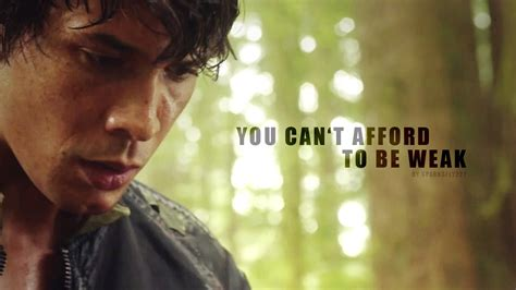 you can't afford to be weak • bellamy blake - YouTube