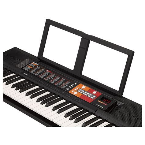 yamaha psr f51 yamaha psr f51 portable keyboard box opened at gear4music