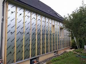 Isolation Mur Exterieur Bardage : menuiserie crochet installation d 39 isolant sur une maison ~ Premium-room.com Idées de Décoration