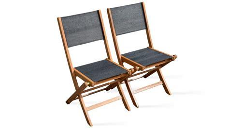 chaises pliantes bois chaise de jardin pliante en bois