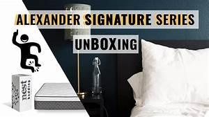 nest bedding alexander signature select mattress unboxing With alexander signature select