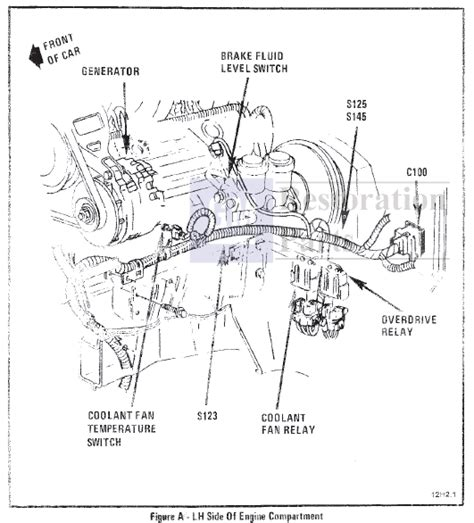 Corvette Starter Relay Location Wiring