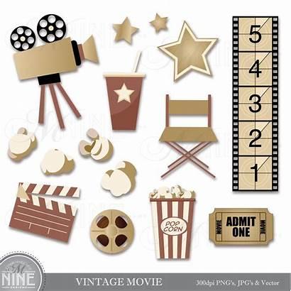 Clipart Clip Classic Cinema Digital Hollywood Theater