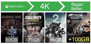 Xbox One X Spiele 4k : how to easily upgrade to xbox one x with seagate game ~ Kayakingforconservation.com Haus und Dekorationen