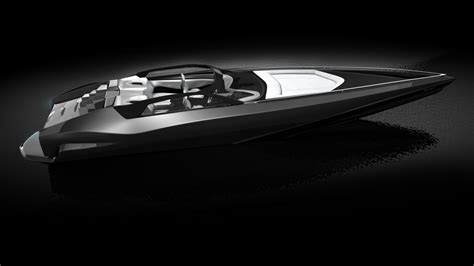 Lamborghini Tender Boat by Fusion Yacht Tender Concept By Design Yacht Charter