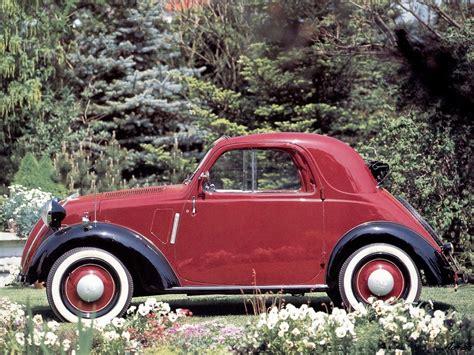 1936 Fiat 500 Topolino Milestones