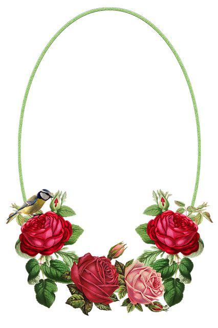 flowers frame roses  image  pixabay