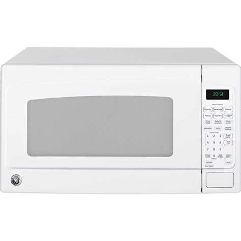 white countertop microwave ovens ge jes2051dnww 2 0 cu ft countertop microwave oven