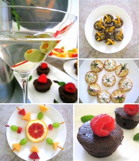 Retro Foodie A Yuppie Cocktail Party Menu Mirror80