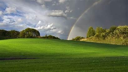 Xp Bliss Windows Wallpapers Nature Microsoft Rainbow