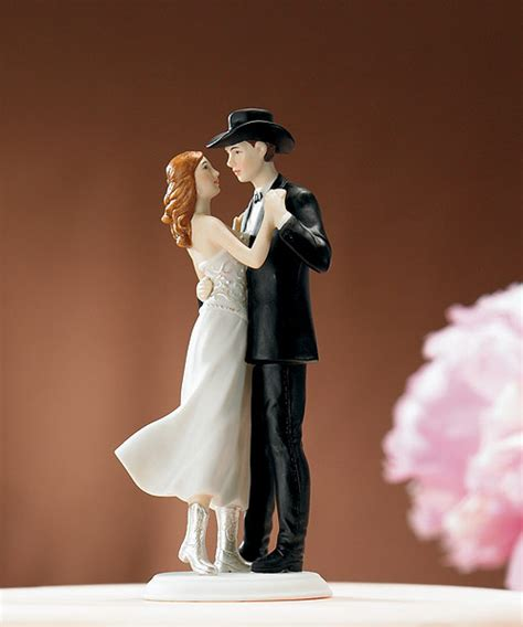 western cake toppers country western wedding cake topper wedding bridal
