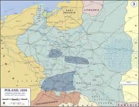 World War 2 Poland Map