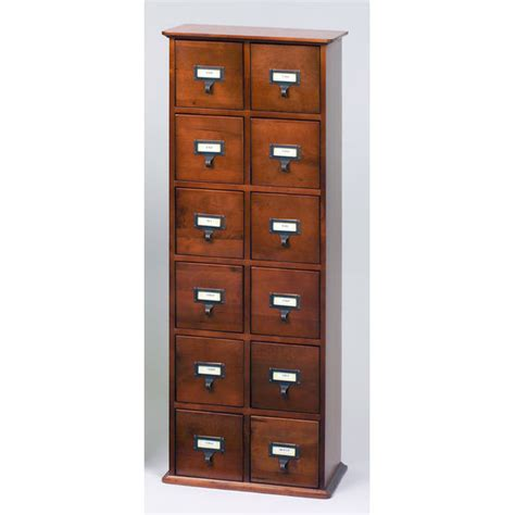 leslie dame library style media cabinet media storage cabinets 228 cd library card file style