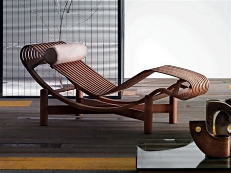 A lounge chair outdoors designed finally made in 1940
