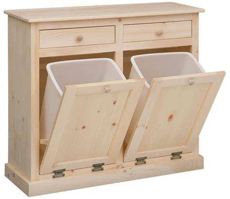 kitchen cabinet recycling center de 25 bedste idéer til trash bins på pinterest