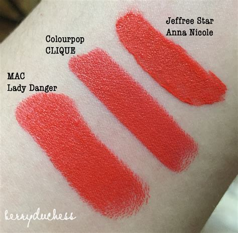 jeffree star anna nicole velour liquid lipstick dupes