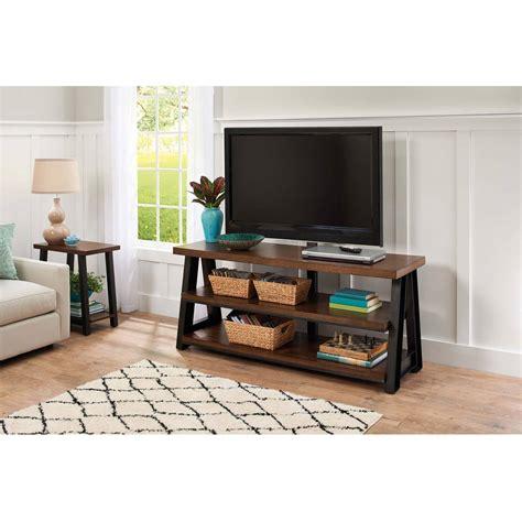 homes  gardens mercer    brown tv stand