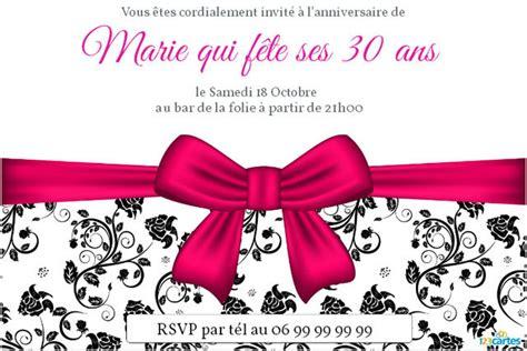 texte invitation pour anniversaire 20 et 40 ans design bild