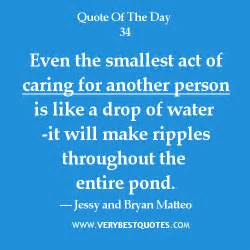 Quotes About the Smallest Act of Caring for Others